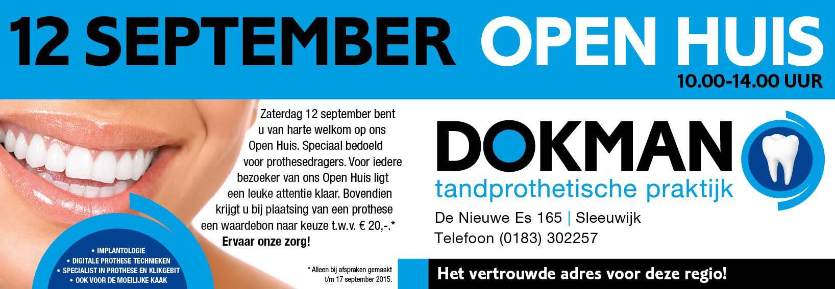 Open Huis Zaterdag 12 September